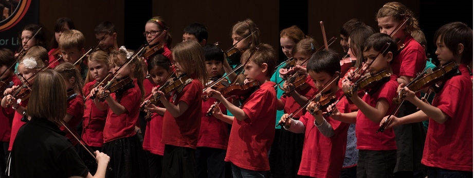 Warwickshire Music Suzuki Group joined us for 'A Day of Strings'